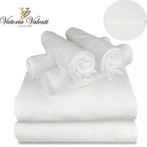 Sheet set, Victoria Valenti Collection, size QUEEN